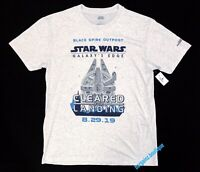 NWT Disney World Star Wars Galaxys Edge Opening Adult 2XL Passholder T-Shirt Tee