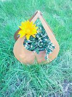 Pflanzschale,Edelrost BlumenStänder übertopf GartendekoRost  Metall Gartemdeko