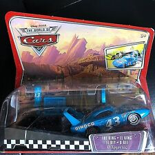 DISNEY PIXAR CARS MODELLINI: PIT RACE OFF LAUNCHERS THE KING