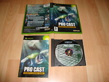 PRO CAST SPORTS FISHING GAME PESCA DE CAPCOM PARA LA PRIMERA XBOX USADO COMPLETO