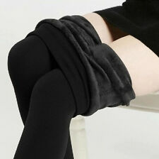 Hot Winter Warm Women Skinny Slim Stretch Pencil Pants Thick Fleece Lined Tights