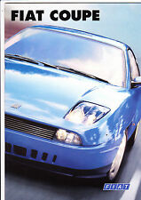Fiat Coupe 20v & Turbo brochure - 1997 - plus roadtest brochure - mint