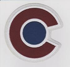 COLORADO AVALANCHE NEW SHOULDER PATCH 2015/16