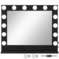 BLACK Hollywood per trucco Vanity Specchio con luce palco GRANDE BELLEZZA SPECCHIO Dimmer