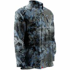 Huk Men's Next Level Kryptek Neptune X-large Button up Long Sleeve Shirt