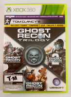 Tom Clancy's GHOST RECON TRILOGY Xbox 360 Advanced Warfighter Future Soldier lot