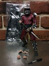 "NECA Teenage Mutant Ninja Turtles TMNT SHREDDER 7"" figure loose with accessories"
