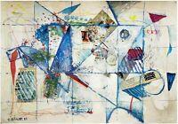 Gershon Rennert: Untitled / Israeli Jewish German Abstract Expressionism
