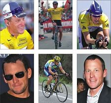 Lance Armstrong Tour De France Cycling Postcard Set