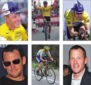 Lance Armstrong Tour De France Cycling Postcard Set