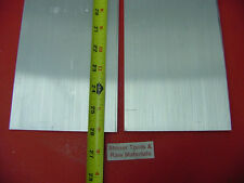 "2 Pieces 1/4"" X 5"" ALUMINUM 6061 FLAT BAR 26"" long .250"" Plate T6511 Mill Stock"