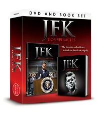 JFK CONSPIRACIES BOOK John F Kennedy ASSASINATION & CURSE DVD BOX SET  22 11 6