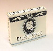 1:12 Scale Empty Senior Service 20 Cigarette Packet Dolls House Miniature Bar