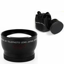 58mm 2X Telephoto Lens for Nikon D7100 D5100 D3300 D90 D300S D5200 DSLR Camera