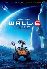 Wall - E movie poster print  :  11 x 17 inches (final style) Disney