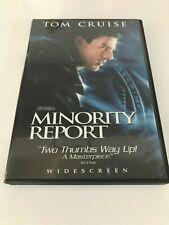 Minority Report (2002) Dvd 2 disc set Sp Ed Tom Cruise Dir Steven Spielberg