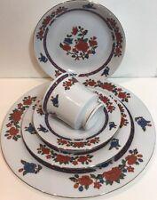 Crown Ming Old Imari Fine China Jian Shiang 5Pc.Place Setting Regent Collection
