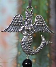 La Sirena Angel Mermaid Queen Necklace Sterling Silver Sergio Pérez Arana Mexico