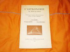 l'astronomie au jour le jour ,paris 1954