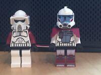 Lego Star Wars ARC Trooper SW0377 ARF Trooper sw0378 Elite Clone Trooper