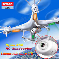 SYMA X5C Exploradores 2.4GHz 4CH 6 Axis RC Quadcopter 2MP FPV Cámara HD Vídeo