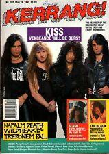 Kiss on Kerrang Cover 1992      Black Crowes    Pantera   Gun   Wildhearts