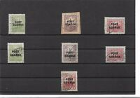 Port Gdansk, 1926-1937, Michelnrn: aus 12 - 18 o, alle BPP geprüft, zur Auswahl