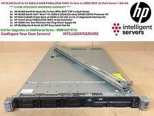HP DL360 Gen9 2x E5-2683v3 64GB P440ar/2GB FBWC 1x 500W 8SFF 1U Rack Server