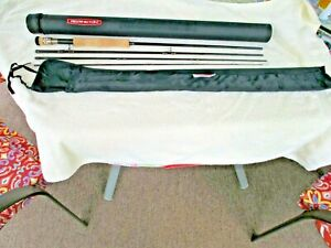 Redington 4 pc 9' flyrod CPX9084 # 8 line in sock and hard case Unused