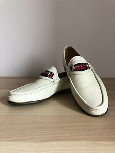 GUCCI leather horsebit men's loafers US11/UK10