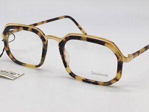 Gianni Versace True Vintage 1980er Tortoise Shell Gold 683 Classic 52-18 Medium