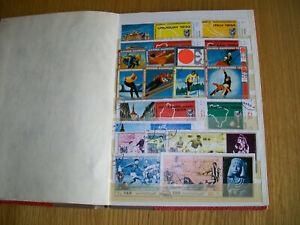Briefmarken aus Arabien im Album
