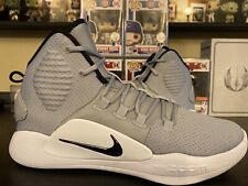 Nike Zoom Hyperdunk X TB Grey White Black Men's Size 13 NEW Basketball NBA