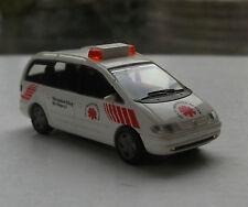 A252 Rietze 50751 H0 1:87 VW SHARAN RETTUNGSDIENST Rarität