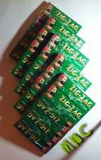 25 Books! ZIG-ZAG Green Cut Corners 1.0 Cigarette Rolling Papers!