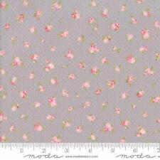 Moda Brenda Riddle Acorn Quilts Fleurs Bitty Fleurs Fabric in Pebble 18632-16