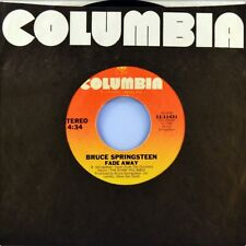 "7"" BRUCE SPRINGSTEEN Fade Away (from The River)/ Be True COLUMBIA 45rpm USA 1980"