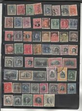 oldhal-Chile-Good Lot of Columbus stamps plus others 1894-1911