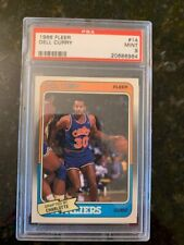 1988 Fleer Basketball #14 DELL CURRY ROOKIE......PSA 9!