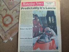 Motoring News 16 July 1981 Watkins Glen 6 Hours Nelson Piquet Thierry Tassin