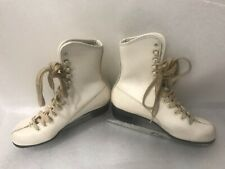 Vintage Imperial Girl's Figure Skating Ice Skates Size 3 Preowned