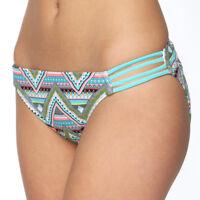 SO Juniors Size XS S M L XL Blue Black Pink Tribal Print Bikini Bottom Swim NEW