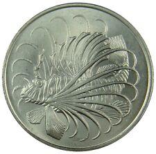 (D23) - Singapur Singapore - 50 Cents 1980 - Fisch Fish - UNC - KM# 5