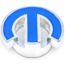 "Proform Air Cleaner Mounting Nut 440-337; Mopar Omega ""M"" Chrome, Blue Aluminum"