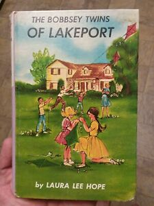 Bobbsey Twins Of Lakeport 1 by Laura Lee Hope Vintage Hardcover Book Mystery