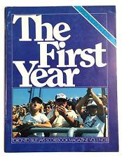 1977 Toronto Blue Jays First Year Yearbook Program Exhibition Baseball Stadium
