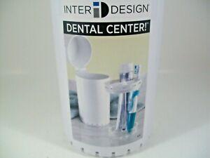 "Tooth Brush Storage  Dental Center  White  9.25"" T Tooth Brush Storage"