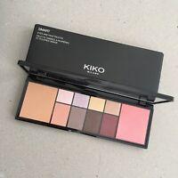 Kiko Milano Eyeshadow Blush Bronzer Face Palette Pro Glam Longwear Makeup NEW
