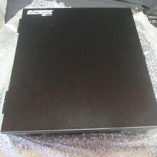 FiberOpticx WTC12/24B 24 Port Splice Capacity 16 Guage Black Patch Panel NEW (F3