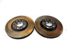 51767382 Pair Front Brake Discs ALFA ROMEO Giulietta 2.0 125KW 5P D 6M (2